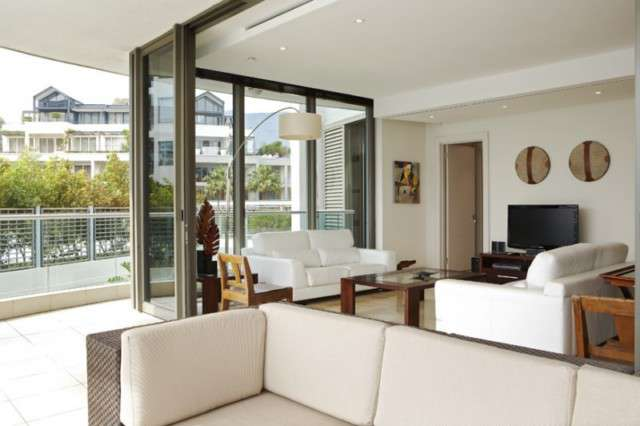 Lounge at V&A Waterfront 2 Bedroom Apartments